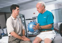 Physical Therapy and Exercises for the Shoulder Isometric Ball Squeeze