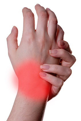 causes of wrist pain, Skeleton